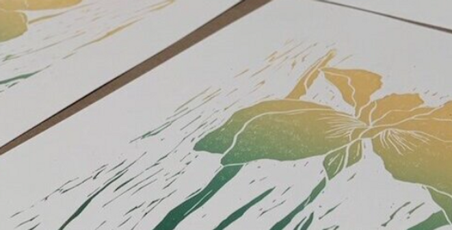 Lino Weekend Course with Ben Hendy (2 days)   Hosted by Lavender Print School