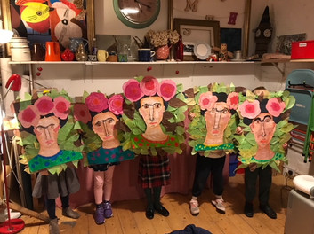 Friday Class - Frida Kahlo - Strong Woman Project