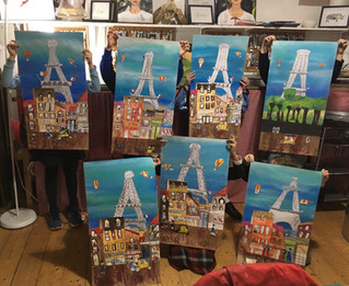 Tuesday Term Time Class - French Cityscape
