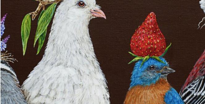 Acrylic Painting with Artist Vicki Sawyer | Online Workshop