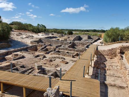 Visita às Ruínas Romanas de Tróia