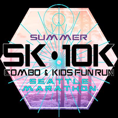 SeattleMarathon Summer 5k/10k & Kids Fun Run Vendor Booth 2022