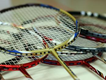 December 2020: getting back to badminton