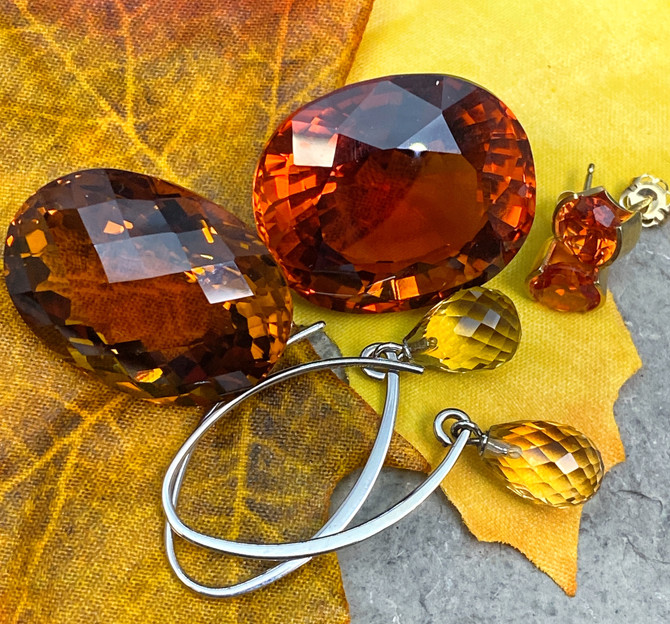 November Birthstone-Autumn Colors
