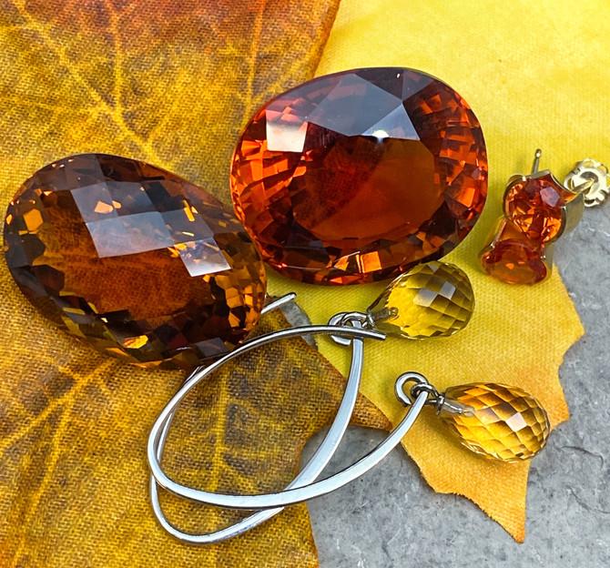 November Birthstone-Autumn Colors