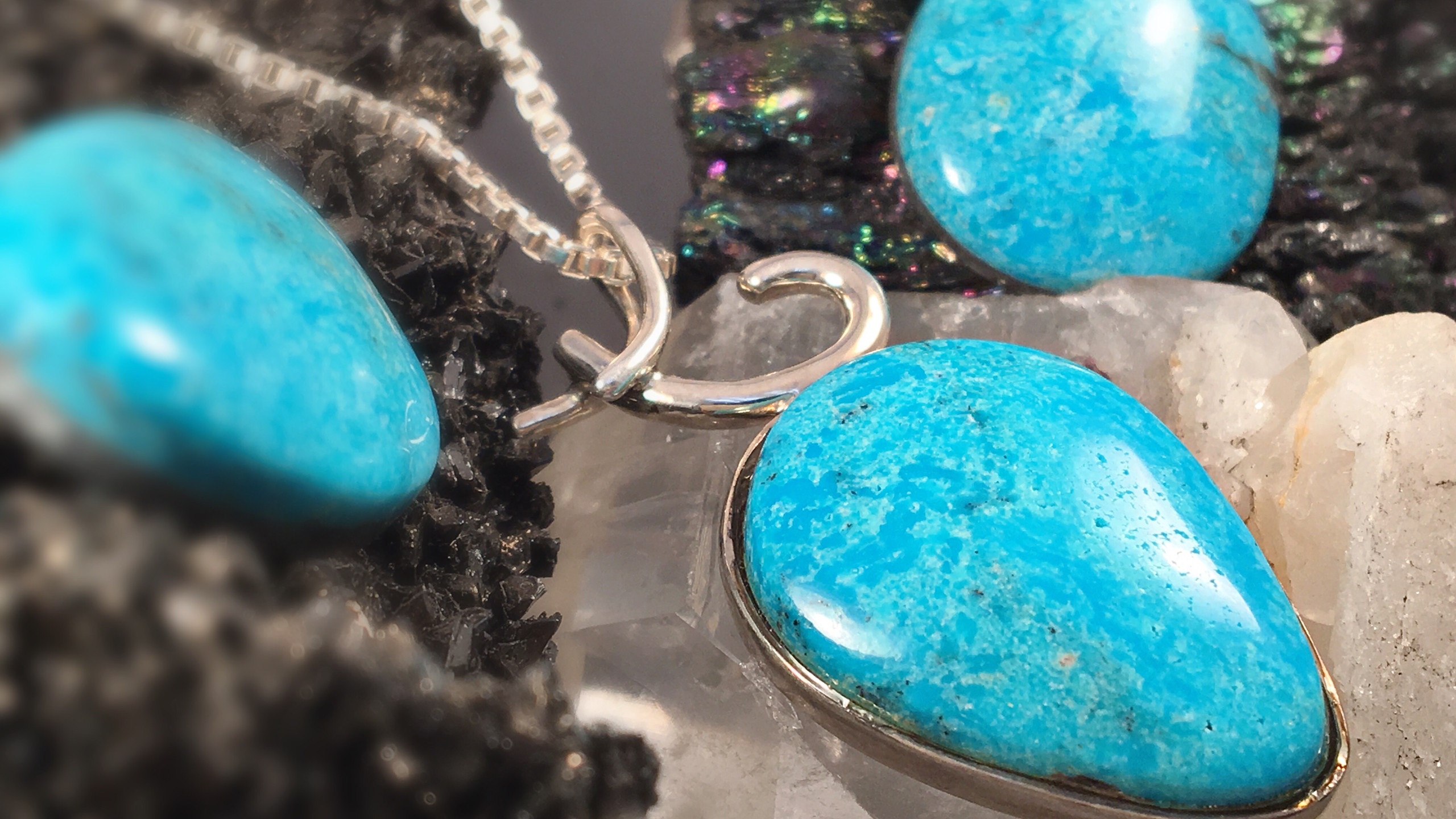 Custom Turquoise Necklace