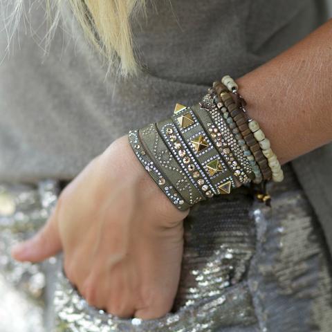 grey paris bracelets