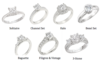 engagement ring variations