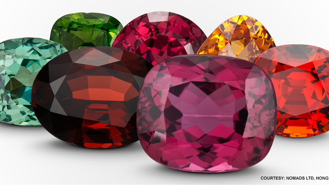 IT'S JANUARY! TIME FOR GARNETS !!!