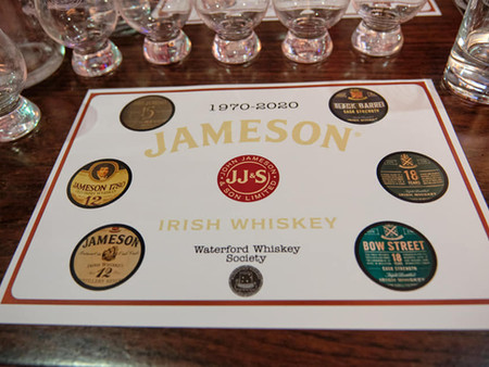 January 2020 - Jameson, Midleton Distillery
