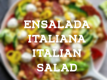 ITALIAN SALAD ENSALADA ITALIANA