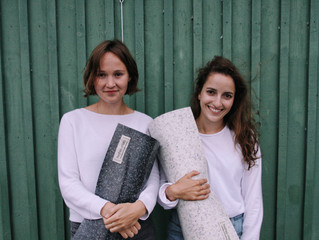 INTERVIEW: Two ambitious ladies making  yoga mats from waste. And how you can be a part of it, too!