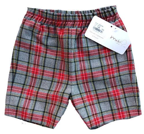 MEBI Jaxson tartan shorts