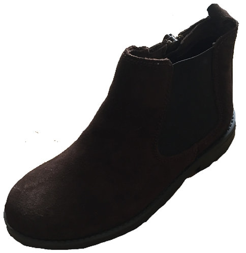 TNY cafe suede Chelsea boots