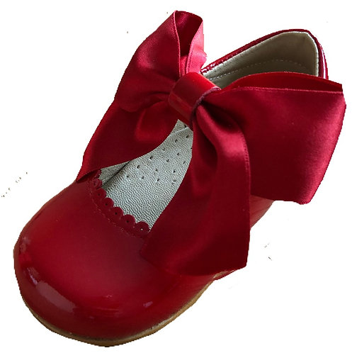 PO red patent mjs