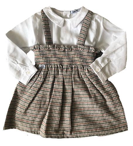 BABIDU Stacey pinafore dress set