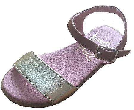 TNY Gold sandals