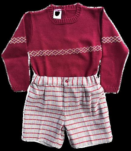 GRANLEI Tomas jumper and shorts set