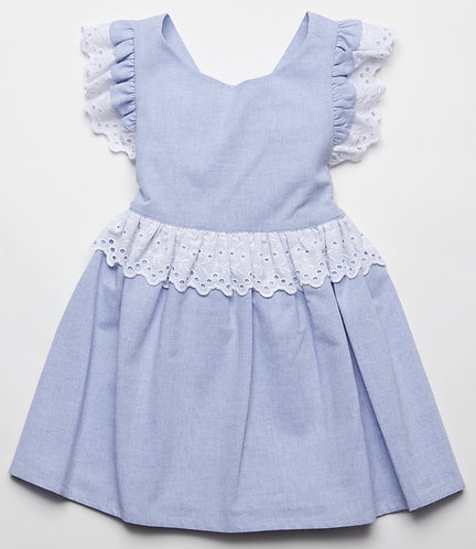 FINA Fern pinafore dress