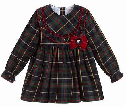 GRANLEI Bebe tartan dress