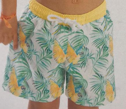 MEIA PATA parrots swim shorts