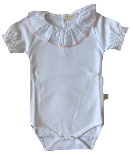 BABY GI pink frill body