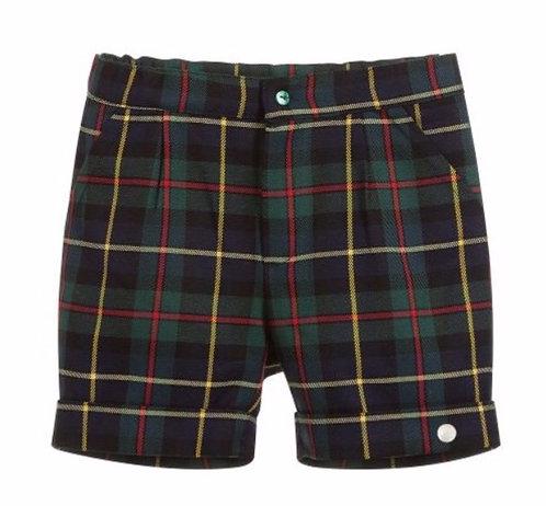 GRANLEI Peter tartan shorts