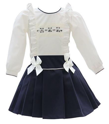 PO Savannah shirt and skirt set