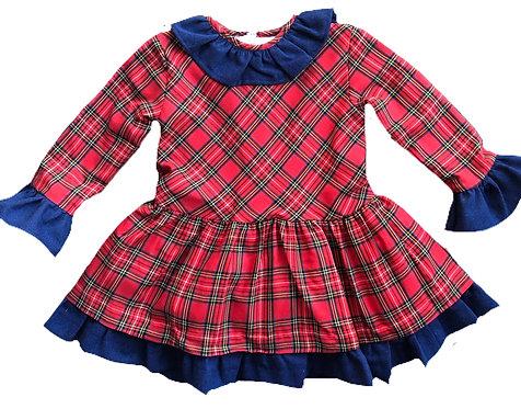 CUA CUAK Khloe tartan dress