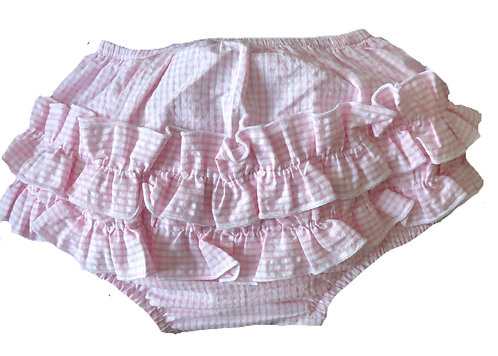 BABY GI pink gingham knickers