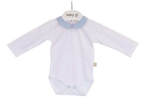 BABY GI blue long sleeve body
