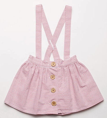 FINA Lou shirt and pinafore set