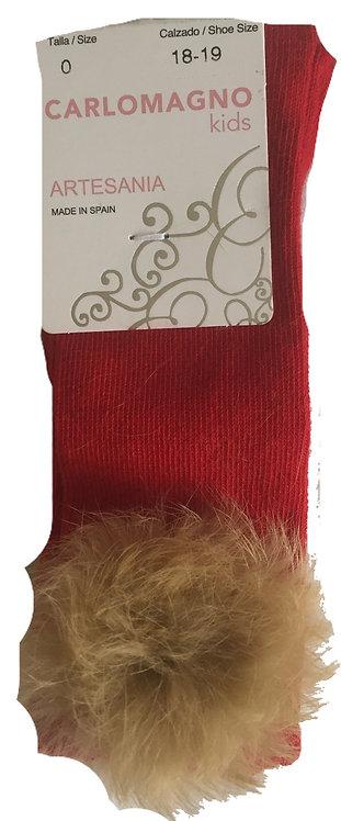 Rojo fur socks