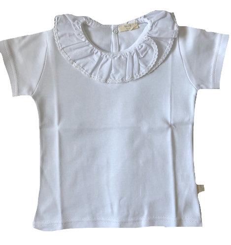 BABY GI White frill top