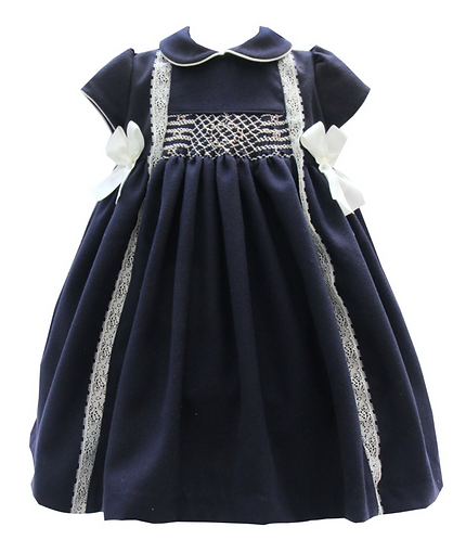 PO Neva smock dress and headband set