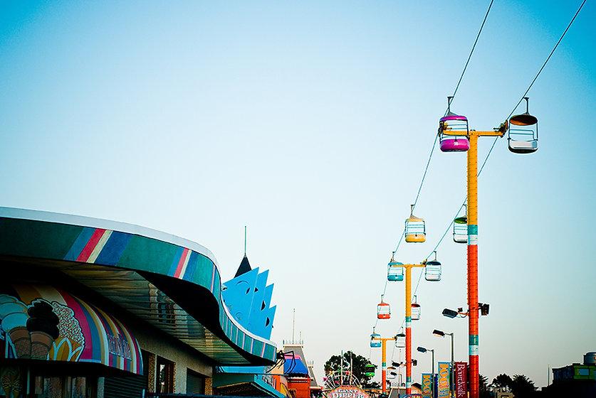 遊樂園天際線