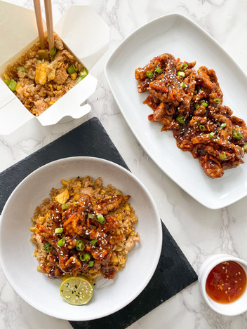 Crispy Honey Chilli Beef