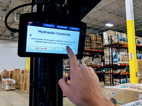 Case study: Achieving over 99% OSHA forklift safety compliance through digital tools