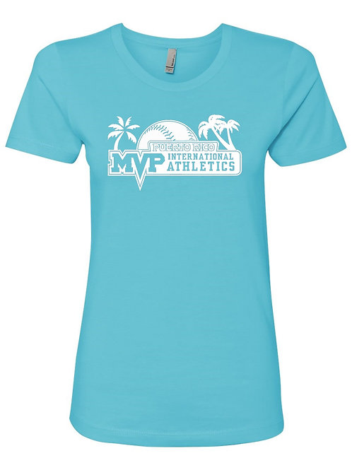 MVP Puerto Rico -NL Women's Short Sleeve Boyfriend Crew