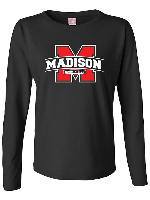 LAT - Women's Long Sleeve Premium Jersey Tee
