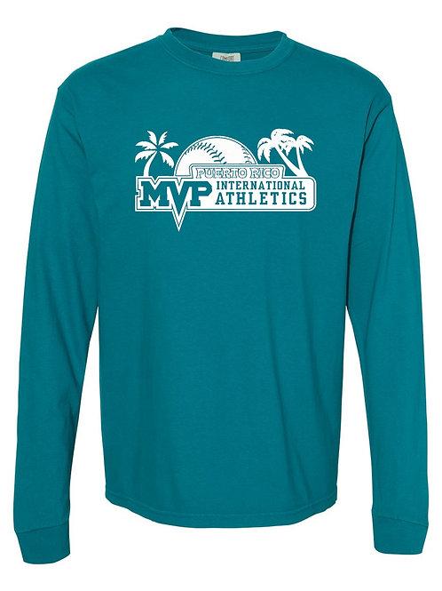MVP Puerto Rico - Comfort Colors - Garment-Dyed Long Sleeve T-Shirt