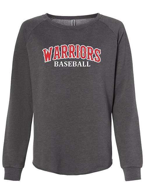 ITC - Women's California Wave Wash Crewneck Sweatshirt