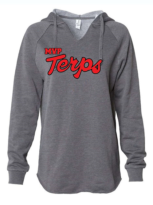 Terps - ITC. Women's California Wave Wash Sweatshirt