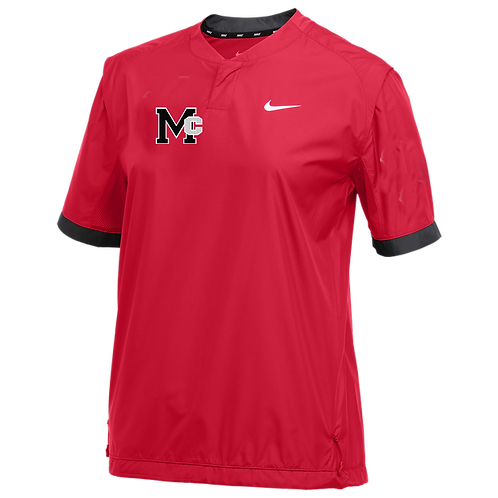 Nike Team Stock Short-Sleeve Windshirt