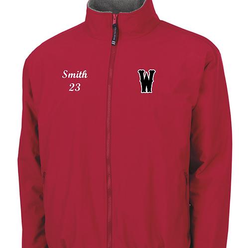 Warriors - Navigator Jacket by Charles River