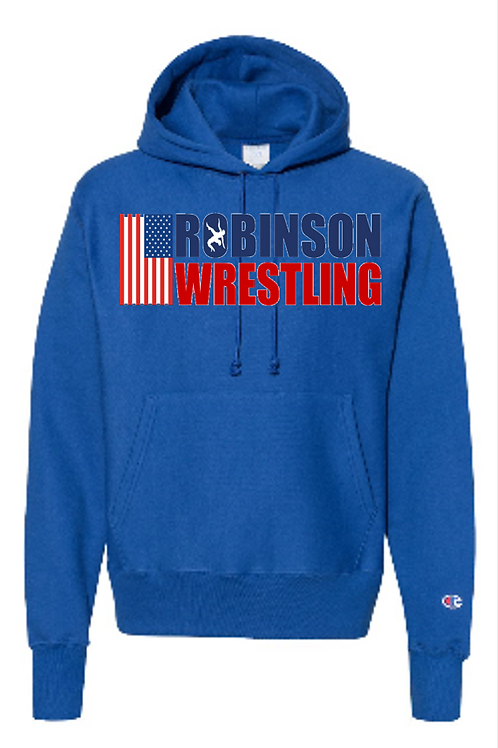 J. America - Premium Sport Hooded Sweatshirt