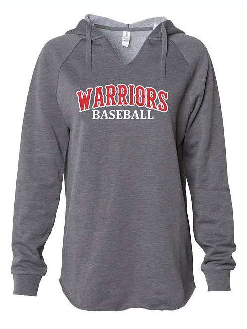 Warriors - ITC. Women's California Wave Wash Sweatshirt
