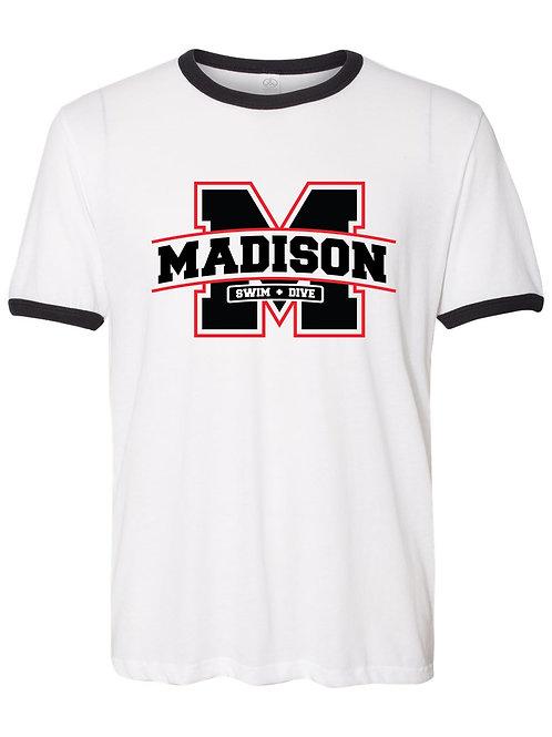 Madison Team Ringer Tee