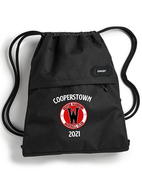 """""""Cooperstown"""" Warriors - Oakley Street Satchel Drawstring Bag"""