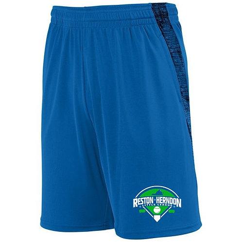 Black Heather Training Shorts